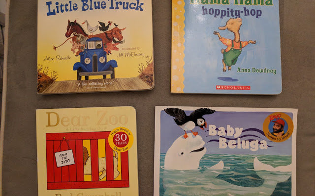 Four Favorite Baby Books