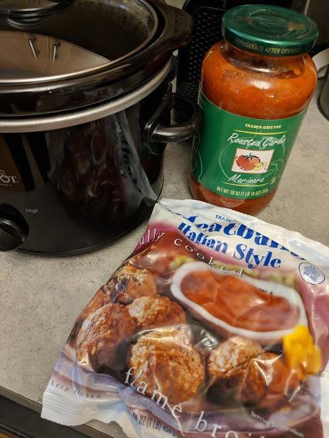 Trader Joe's Crock Pot Meatballs