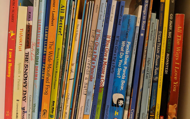 Building a Toddler Library