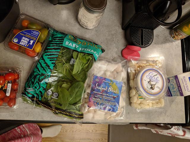 Trader Joe's Seafood Gnocchi