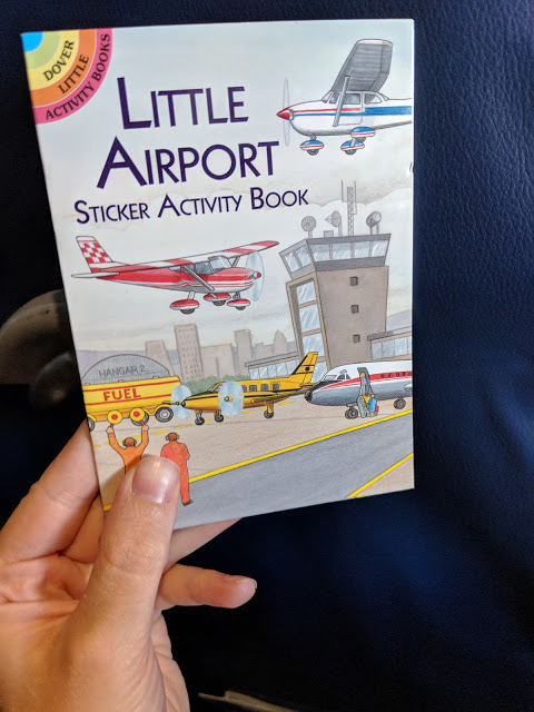 On the Airplane: What Worked For Me