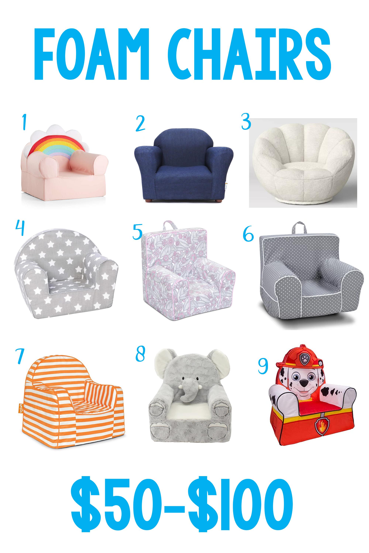 9 Foam Chairs under $100