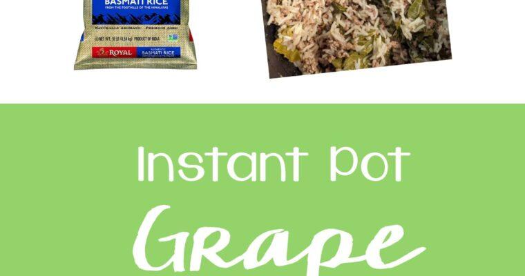 Instant Pot Grape Leaves