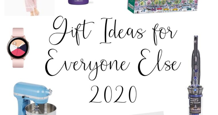 Holiday Gift Guide 2020 (for everyone else)